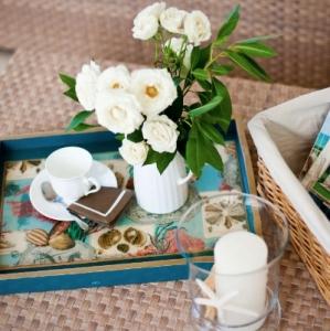Amazing Grace Coffee Tray Detail