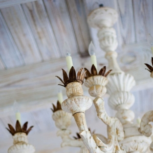 Amazing Grace Turks and Caicos Chandelier Detail