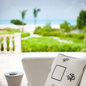 Amazing Grace Turks and Caicos Exterior Patio Detail