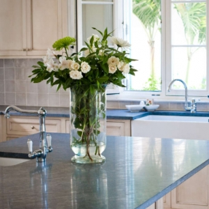 Amazing Grace Turks and Caicos Kitchen COunter and Sink Detail