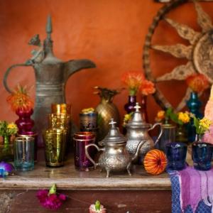 Bajacu Bohemian Turkish tea station details