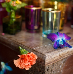 Bajacu Bohemian Turkish tea station flower strands