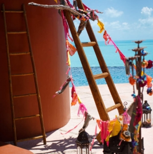 Bajacu Bohemian Wedding Turks and Caicos