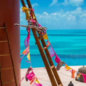 Bajacu Bohemian ocean views Turks and Caicos