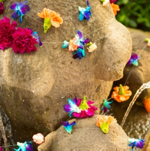 Bajacu Bohemian floral strand by Environmental Arts