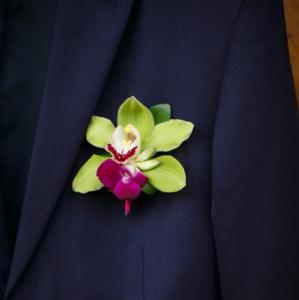 Bajacu Bohemian boutonnierre by environmental Arts