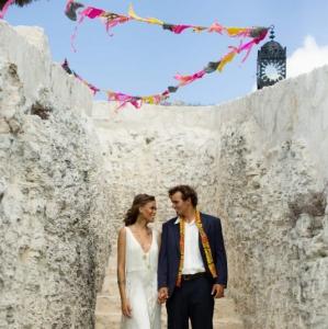 Bajacu Bohemian rock stairwell Turks and Caicos Islands