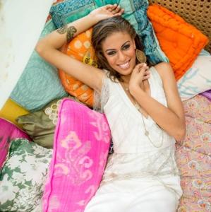 Bajacu Bohemian Daybed lounging bride
