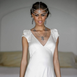 Bajacu Bohemian retro bridal gown