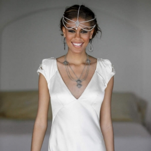 Bajacu Bohemian bridal Turks and Caicos