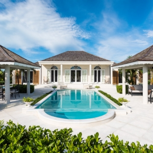 Cotton House Turks and Caicos outdoor living