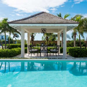 Cotton House Turks and Caicos poolside dining
