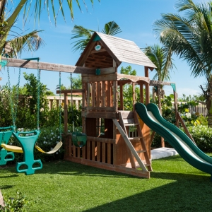Cotton House Turks and Caicos poolside kids playground