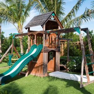 Cotton House Turks and Caicos poolside childrens play area