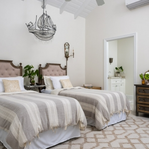 Cotton House Turks and Caicos guest bedroom