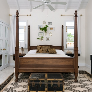 Cotton House Turks and Caicos master guest bedroom