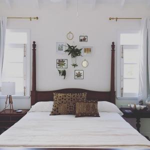 cotton-house bedroom