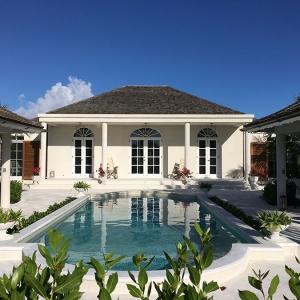 cotton-house backyard