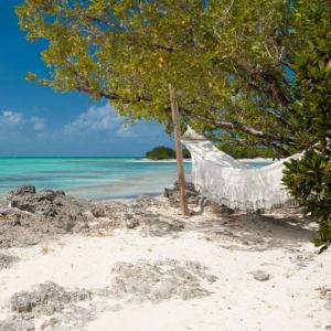 Donna Karan Sanctuary Parrot Cay Beach Hammock