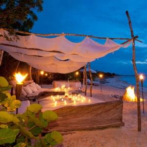 Donna Karan Sanctuary Parrot Cay Sunset Beach Lounge
