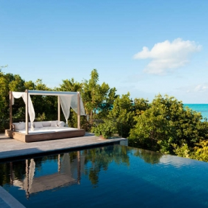 Donna Karan Sanctuary Parrot Cay Poolside