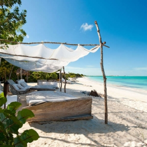 Donna Karan Sanctuary Parrot Cay Beach