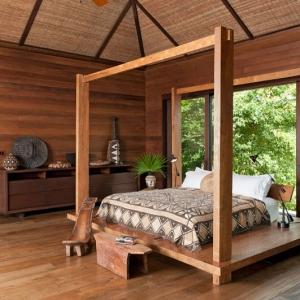 Donna Karan Sanctuary Parrot Cay Bedroom
