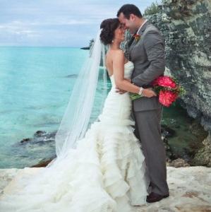 Bajacu Wedding Couple by Sea