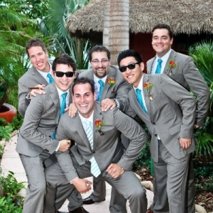 Bajacu Wedding Groomsmen