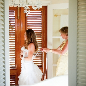 Fleur de Lys Villa wedding ceremony