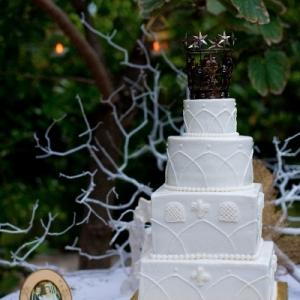 Fleur de Lys Villa wedding ceremony
