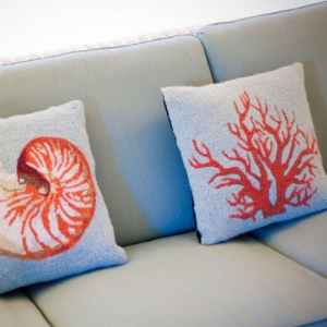 Ocean Club Pillow Detail