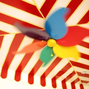 Cole Playroom Circus Ceiling