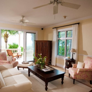Point Grace Living Room and patio