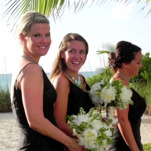 Footprints Villa Ceremony Bridesmaids