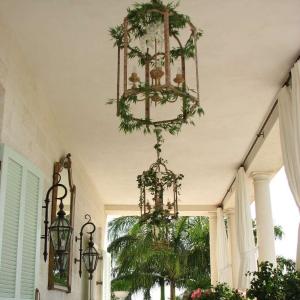 Regent Palms Ballroom Balcony styled for wedding