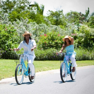Bicycle couple resort