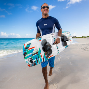 Discover Magazine Cover Turks and Caicos 2013 Tropical Imaging Kiteboarding