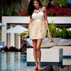Discover 2012 Fashion Turks and Caicos Tropical Imaging cocktail look
