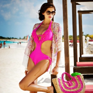 Discover 2012 Fashion Turks and Caicos Tropical Imaging beach look