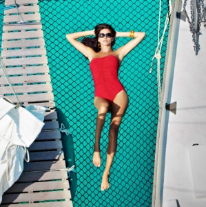 Discover 2012 Fashion Turks and Caicos Tropical Imaging nautical glam look