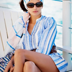 Discover 2012 Fashion Turks and Caicos Tropical Imaging nautical retro look