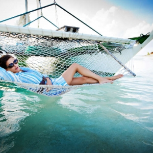 Discover 2012 Fashion Turks and Caicos Tropical Imaging nautical hammock look