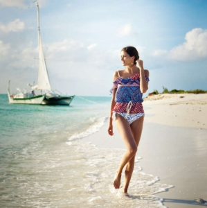 Discover 2012 Fashion Turks and Caicos Tropical Imaging nautical beach look