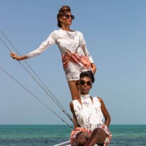 Discover 2013 Fashio Turks and Caicos Tropical Imaging retro look