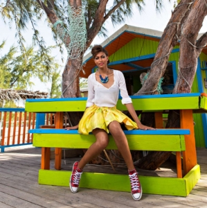 Discover 2013 Fashio Turks and Caicos Tropical Imaging playful look