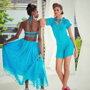 Discover 2013 Fashio Turks and Caicos Tropical Imaging chic look