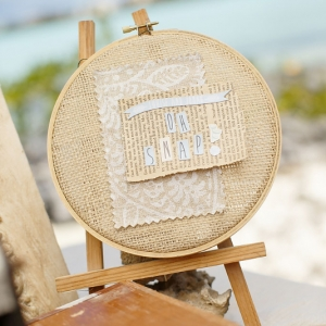 Well Read Rustic Wedding Styled Shoot Vintage Camera Oh Snap! Sign