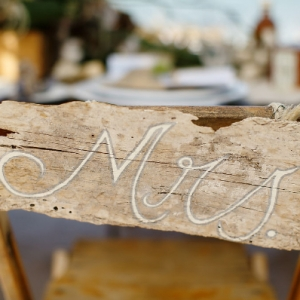 Well Read Rustic Wedding Styled Shoot Mrs Driftwood Sign