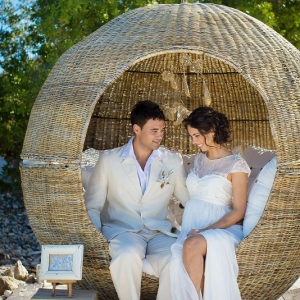 Well Read Rustic Wedding Styled Shoot Bride and Groom Love Nest